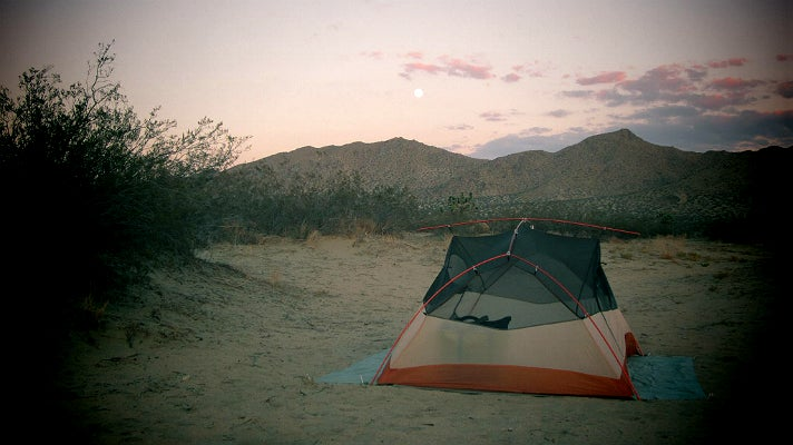 Beach Tent Camping Near Los Angeles
