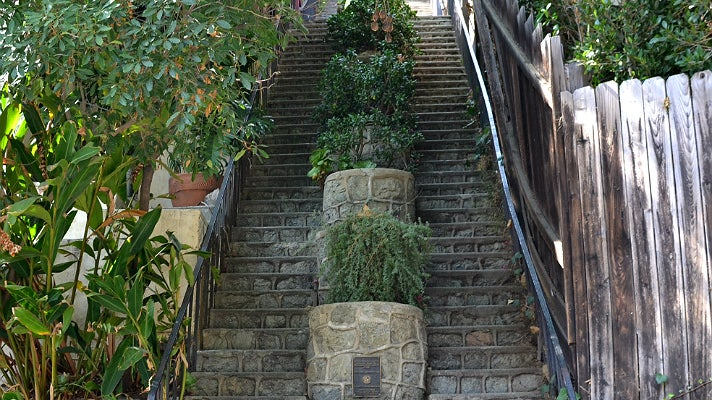 Discover The Hidden Stairs Of Los Angeles | Discover Los Angeles Mobile |  California
